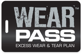 I wear pass: Excess wear and Tear Plan