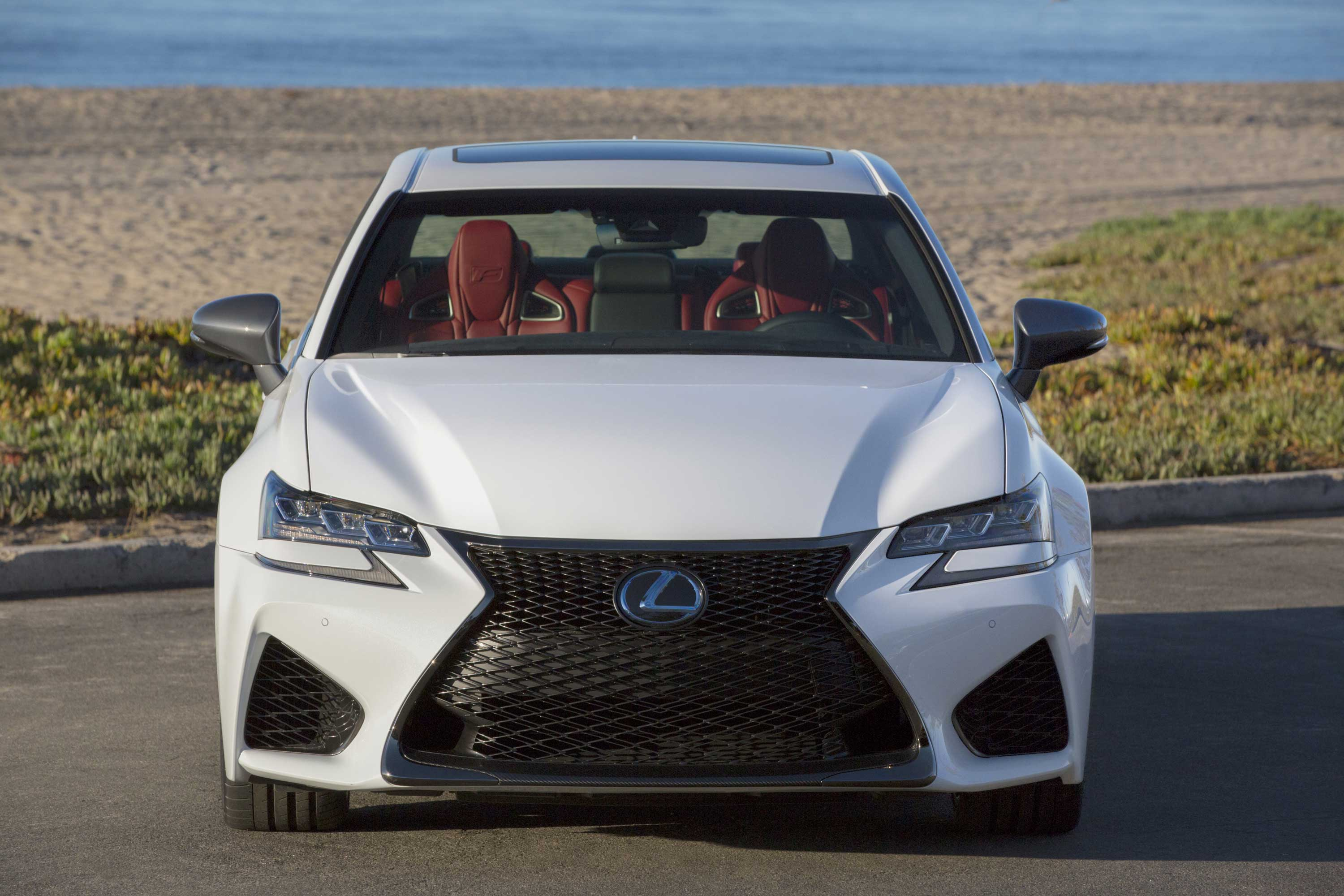 The 2016 Lexus GS F Head On