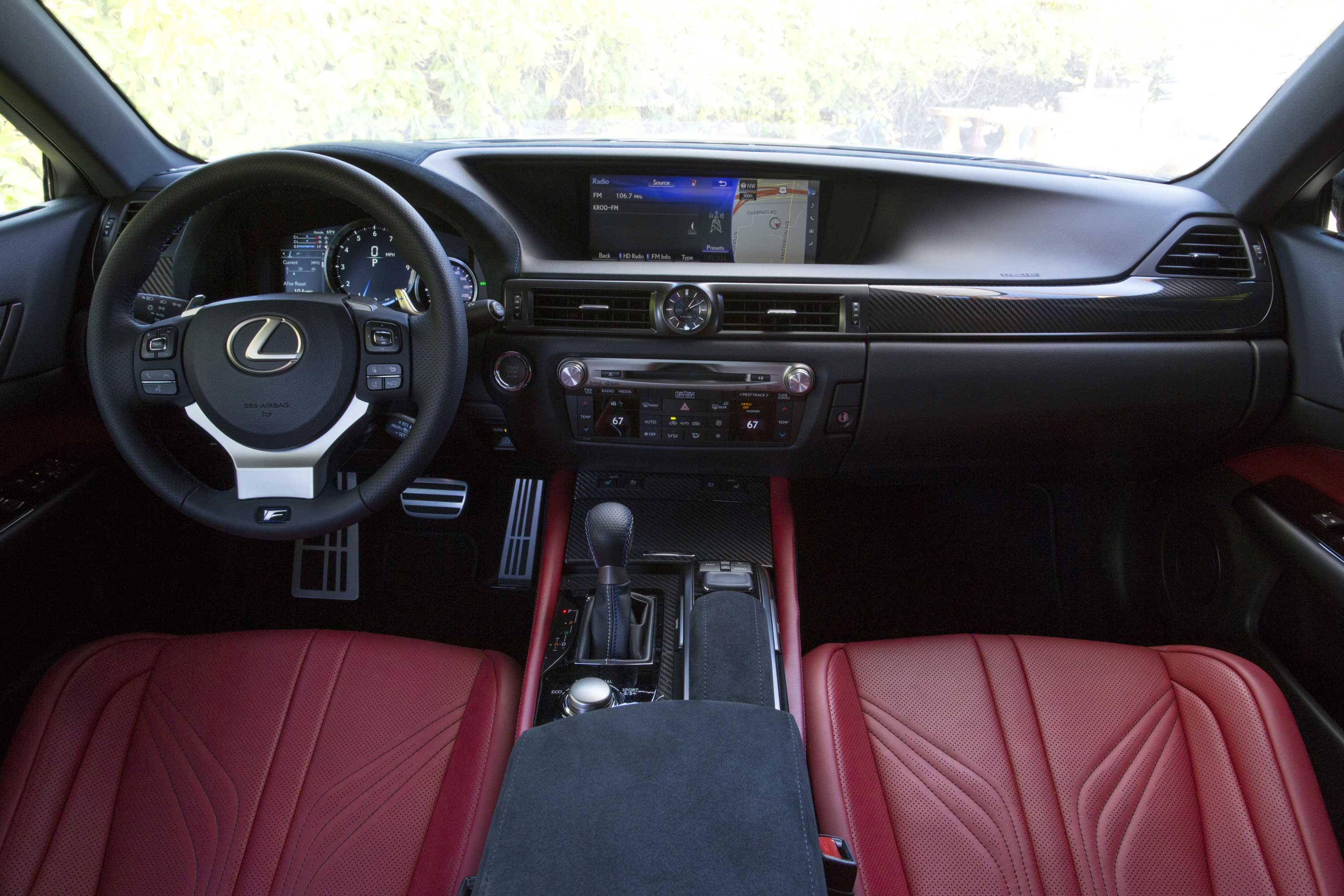 2016 Lexus GS F cockpit at Northwest Lexus