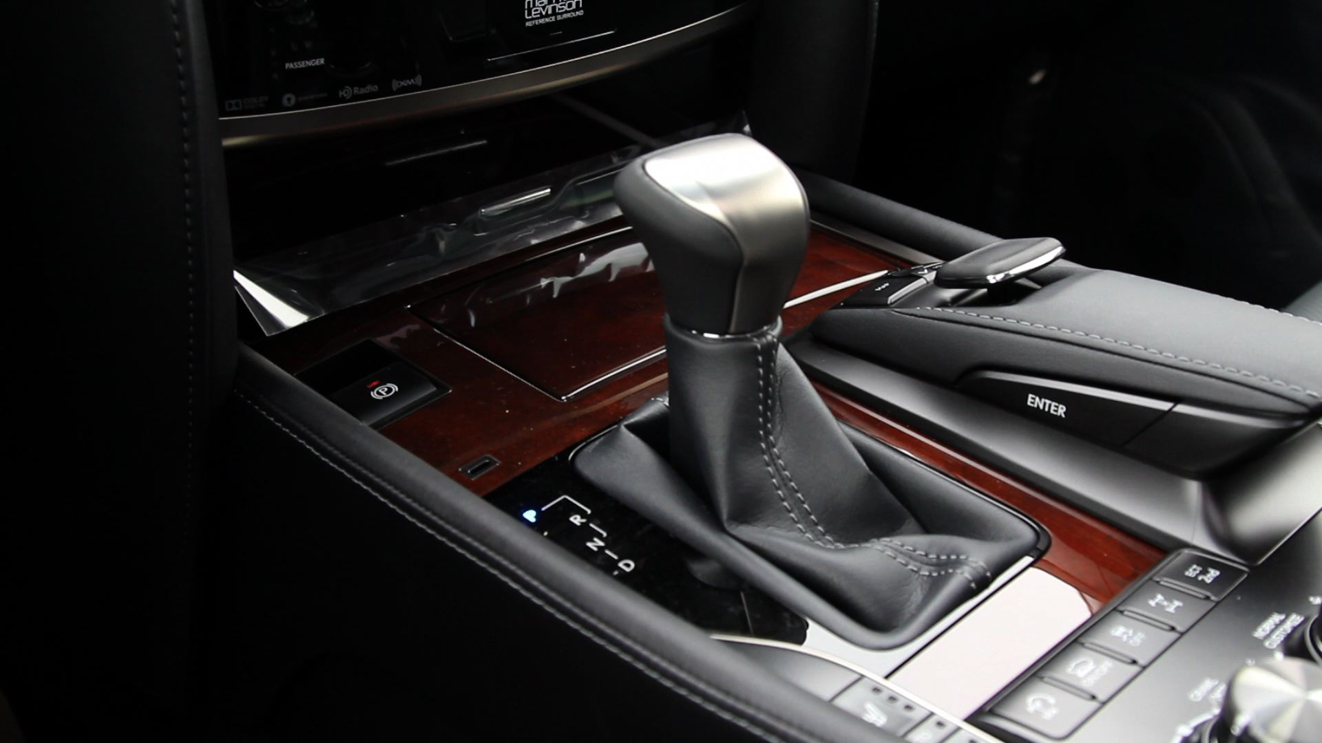 2016 Lexus LX 570 - Gear shift
