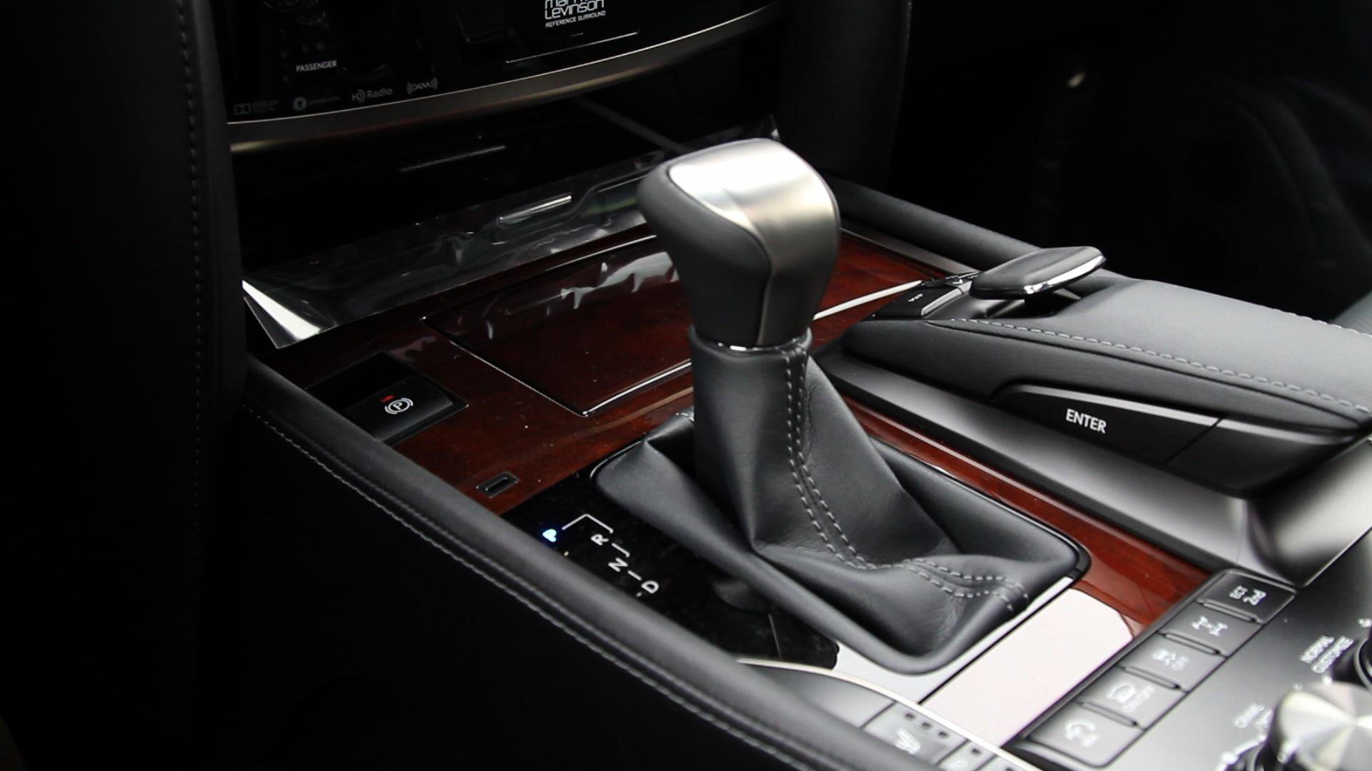 2016 Lexus LX 570 - Gear shift