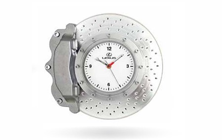 Lexus Brake Disc Wall Clock