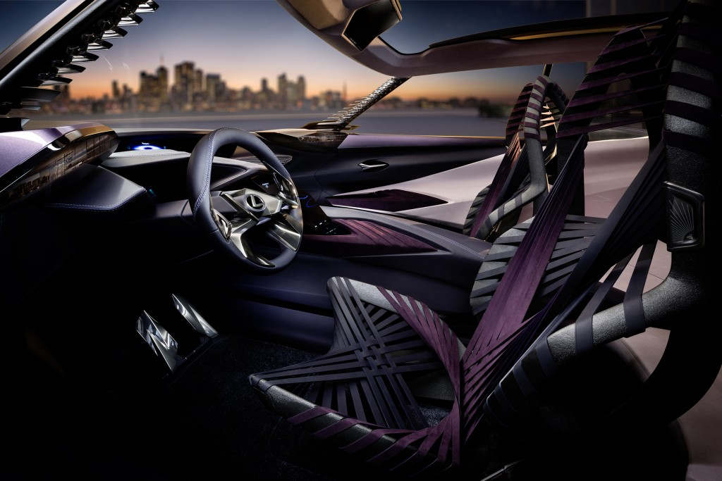 Lexus UX Concept Interior Side View