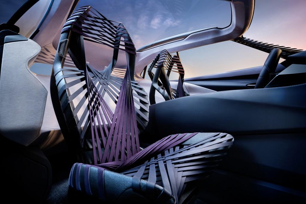 Lexus UX Concept Seats