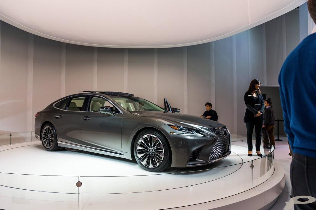 2018 Lexus LS Reveal