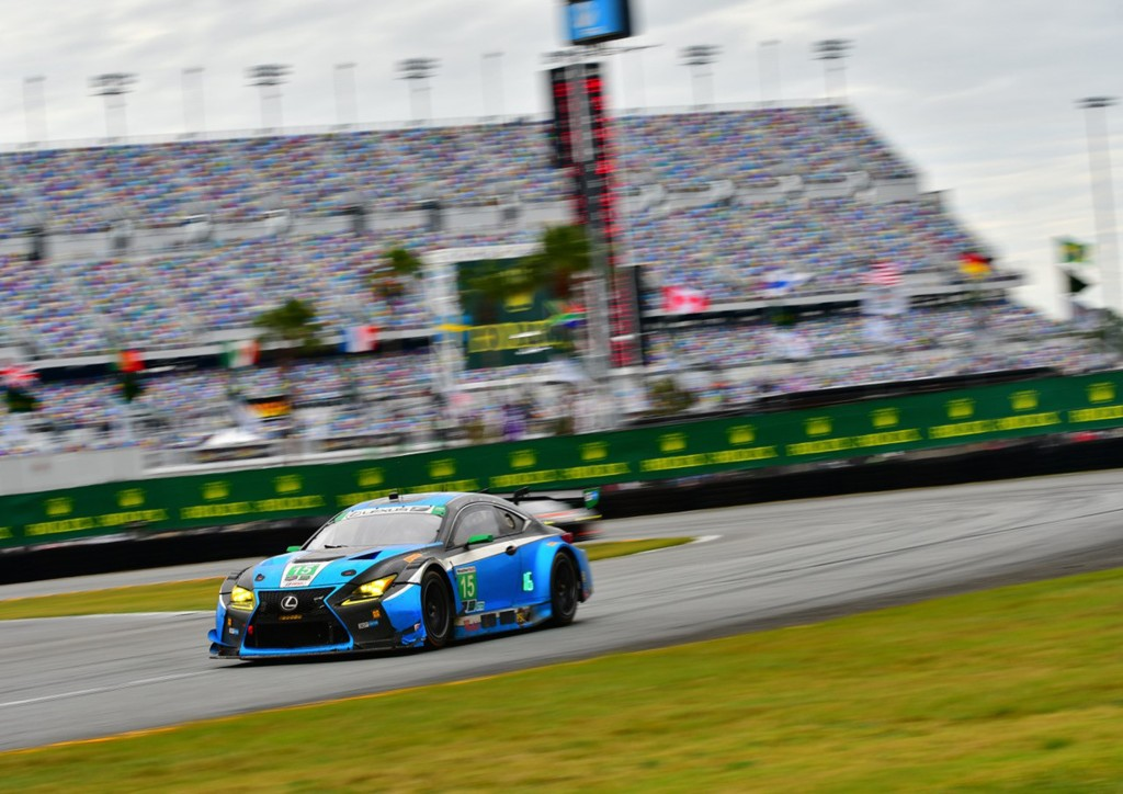 #15 Lexus RC F GT3 at the 2017 Rolex 24 At Daytona