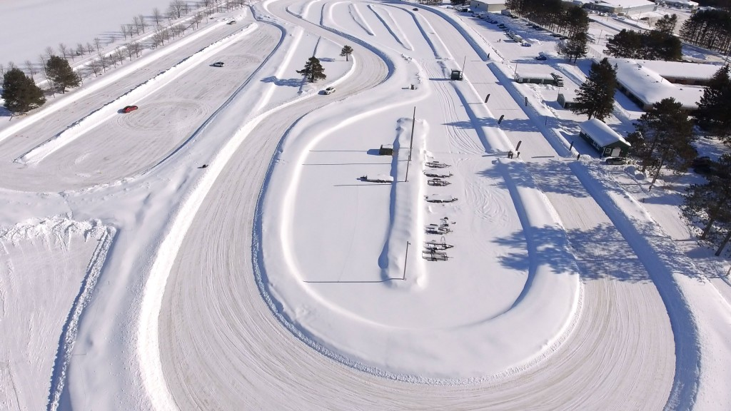 Winter driving experience