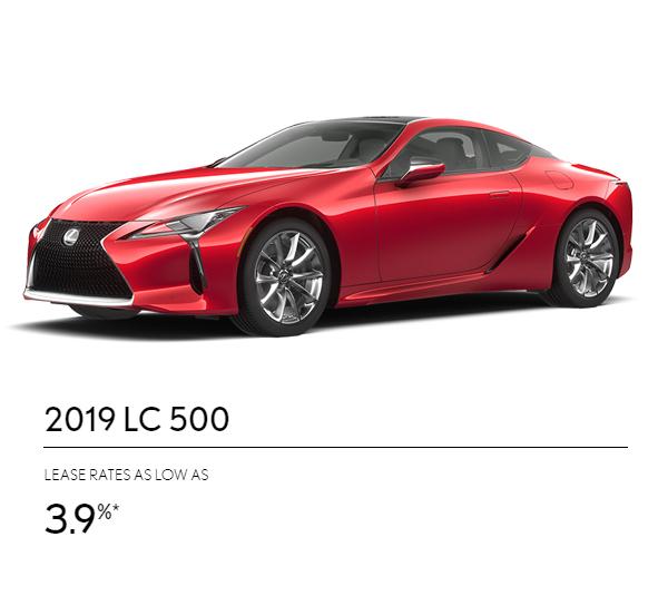 2019 Lexus Lc: Best Lexus Deals Brampton
