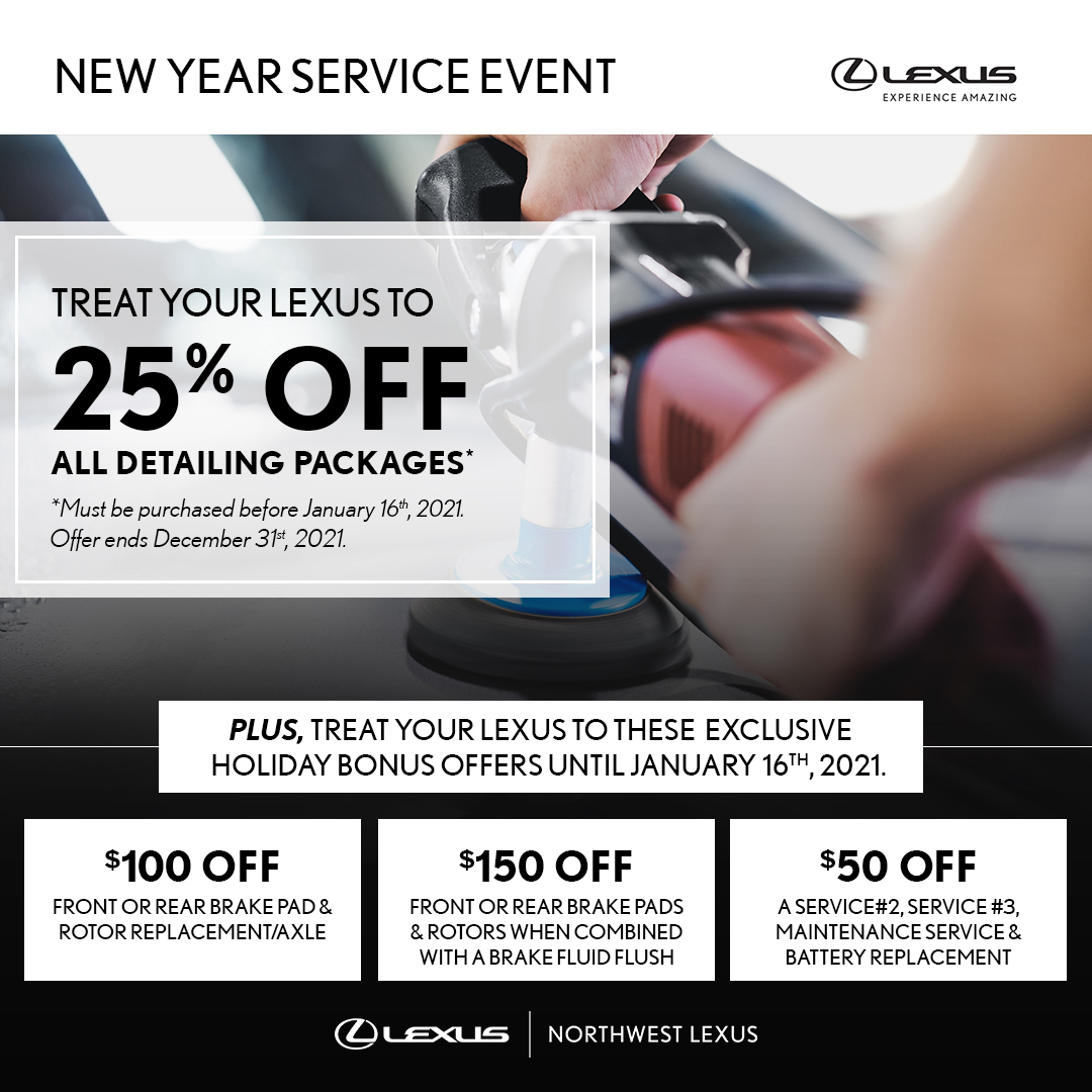 New Year 2021 Service Offers
