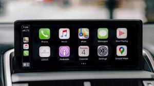 2021 Lexus NX Apple CarPlay