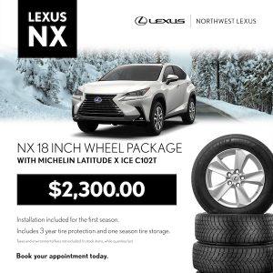 Lexus NX Winter Wheel Package