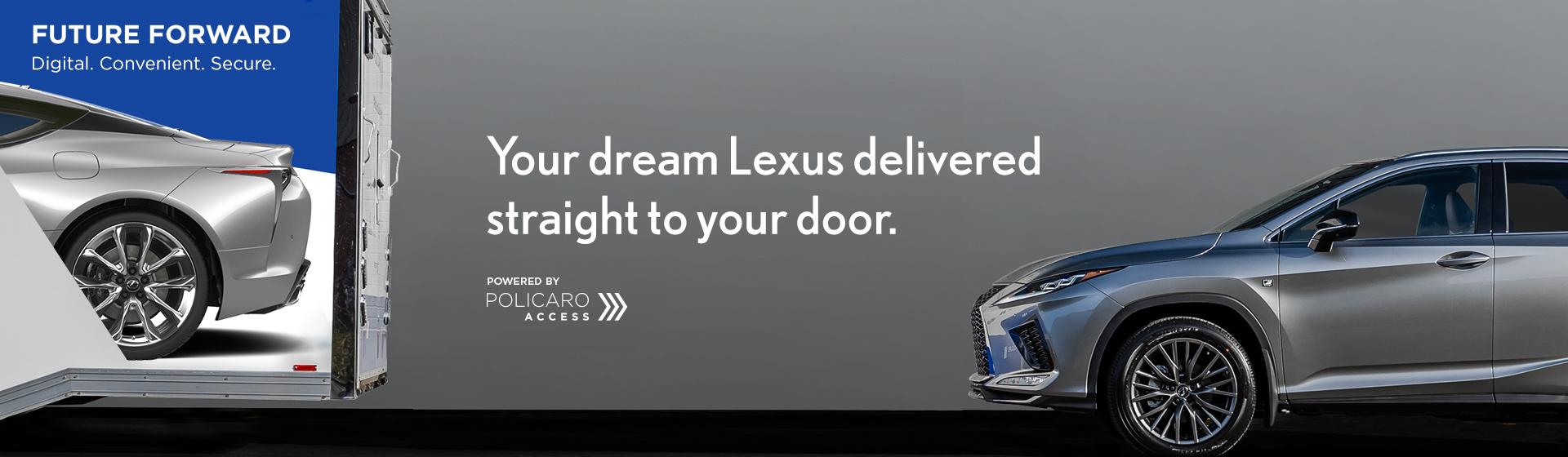 Northwest Lexus Home Delivery