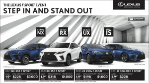 Northwest Lexus Offers - May 2021
