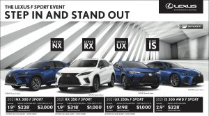Northwest Lexus May 2021 Offers