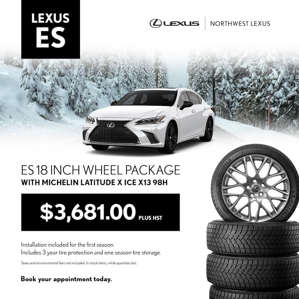 Lexus ES Winter Wheel Package