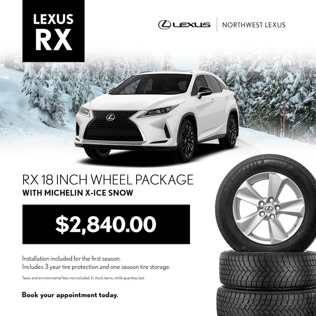 Lexus RX Winter Wheel Package